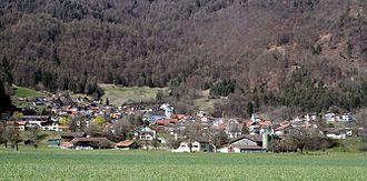 Untervaz - Image: Untervaz