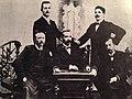 Urednici Gradine iz 1900.jpg