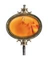 Urnyckel av pinsback med karneol, 1800-tal - Hallwylska museet - 110393.tif