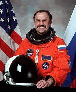 Yury Usachov Russian cosmonaut