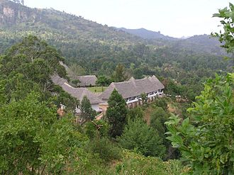 Usambara Mountains - The Government Hotel.