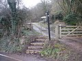 Usk Valley Walk , path to Cat's Ash - geograph.org.uk - 1773784.jpg
