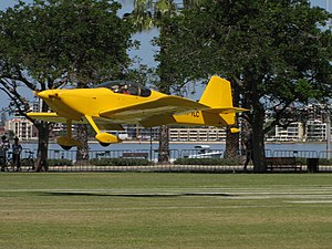 VH-YLC Vans RV6 at SAAA Langley Park Flyin October 2011 (6806014742).jpg