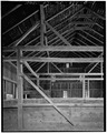 VIEW OF MAIN LEVEL FROM EAST END - Blendon Estate, Barn, 11747 Park Heights Avenue, Owings Mills, Baltimore County, MD HABS MD,3-OWMI.V,3-B-14.tif