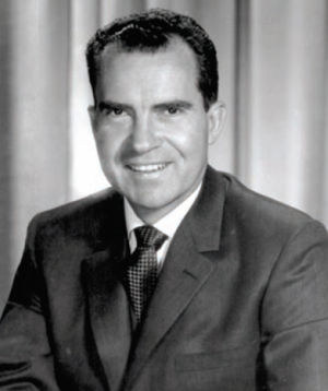 California gubernatorial election, 1962 - Image: VP Nixon