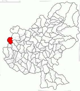 Valea Largă Commune in Mureș, Romania
