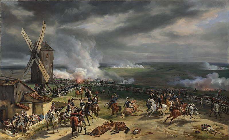 The battle of Valmy (1792). Valmy Battle painting.jpg