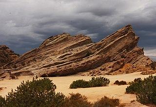 Vasquez Rocks Natural Area Park in California