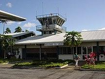 東加-政治-Vavau airport, Tonga