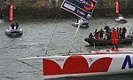 Vendée Globe 2012-2013 Jeremie Beyou Maître CoQ.jpg