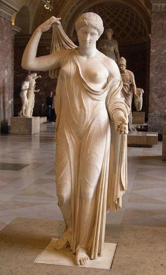 Venus Genetrix (sculpture) - The Aphrodite of Frejus at the Louvre