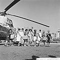 Verkiezing Miss Benelux , aankomst van de missen op het strand van Scheveningen, Bestanddeelnr 914-1626.jpg