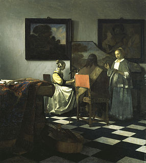 <i>The Concert</i> (Vermeer) stolen painting by Johannes Vermeer