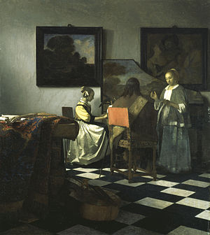 Art theft - Image: Vermeer The concert
