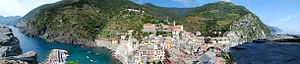 Vernazza - Image: Vernazza Italy Panoramic