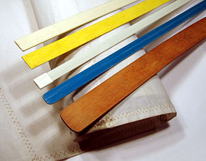 Sail batten - Selection of sail battens.