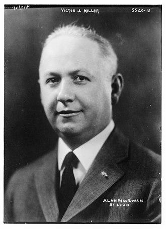 Victor J. Miller - Victor J. Miller in 1900