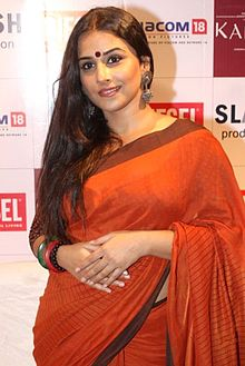 Vidya Balan poses for the camera