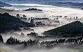 View from McQueens Pass towards Lyttelton Harbour, New Zealand.jpg