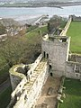 View from The Keep over to Assheton's Tower within Portchester Castle - geograph.org.uk - 1085806.jpg