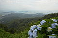 View from the top of Mt Sangane, Higashi-Hazu-cho Nishio city 2013.JPG