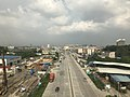 View from train for Shenzhen North Station near Huadu, Guangzhou, Guangdong 2.jpg