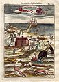 View of Barents' Arctic voyage, 1683.jpg