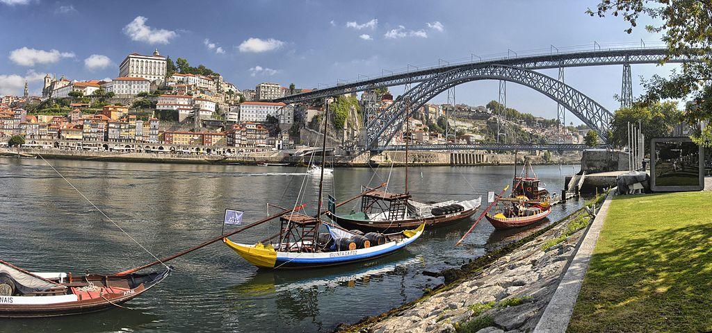 Pont Dom Luis I à Porto depuis Vila Nova de Gaia - Photo de Fernando González Sanz