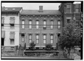 View of east (front) elevation - Williams Duplex Tenament, 730-732 North Main Street, Wheeling, Ohio County, WV HABS WVA,35-WHEEL,45-2.tif