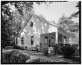 View of front and east sides - Ernest E. Hart House, 4828 West Fayetteville Road, College Park, Fulton County, GA HABS GA,61-COPK,6-5.tif