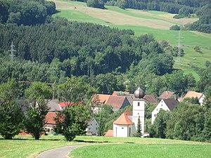 Blumberg - View over Achdorf