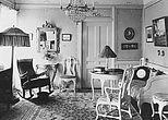 Lede Leander interiør 1920d.   JPG