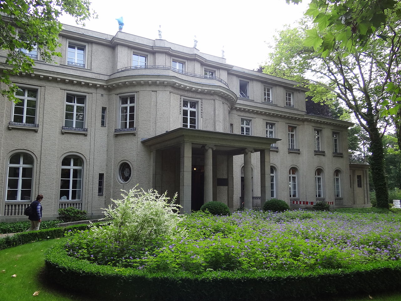 file villa marlier where 1942 wannsee conference was held wannsee berlin germany 04. Black Bedroom Furniture Sets. Home Design Ideas