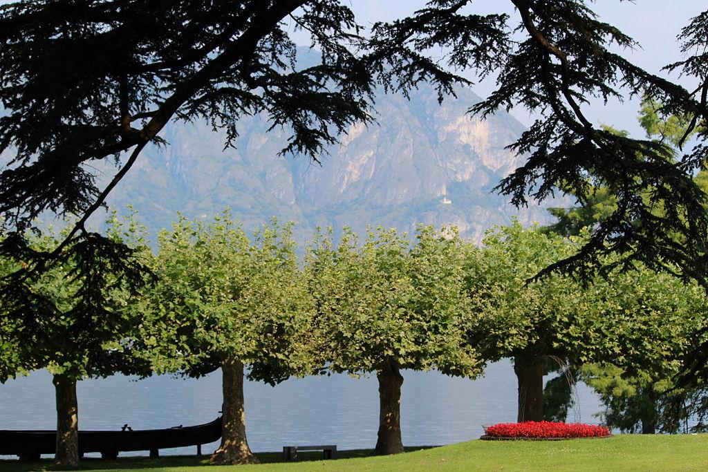Jardines de Villa Melzi en Bellagio.