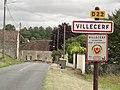 Villecerf (Seine-et-Marne) city limit sign.jpg