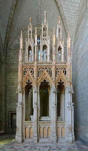 Pope Innocent VI - Image: Villeneuve avignon chartreuse tombeau