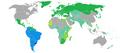 Visa requirements for Uruguayan citizens.png