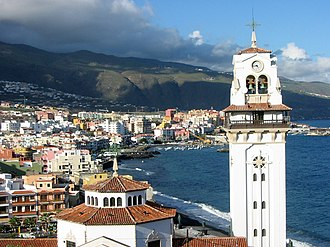 Candelaria, Tenerife - Image: Vista de Candelaria