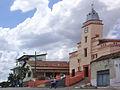 Vista parcial da Igreja Matriz de São Sebastião, Carlos Chagas MG.JPG