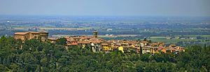 Dozza - Image: Vista sul borgo