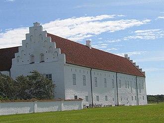 Vitskøl Abbey - Vitskøl Abbey, west wing
