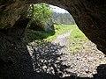 Vogelherdhöhle im Lonetal, Fundort des Pferdchens aus Mammutknochen, 32 TSD Jahre 03.jpg