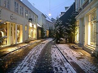 Volden, Aarhus street in Aarhus Municipality, Denmark