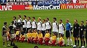 Vor dem Gruppenspiel Deutschland - Tschechien1