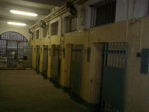 Victoria Prison - Interior of one of the Halls