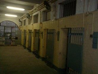 Victoria Prison - Interior of one of the Halls