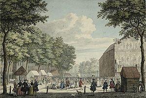 Jan de Beijer - Image: Vredenburg Utrecht ca 1760 author J de Beijer