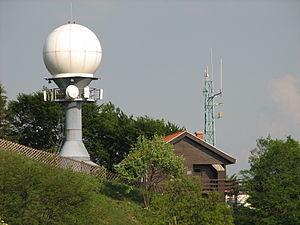 Vremenska postaja z radarjem, Lisca nad Sevnico.