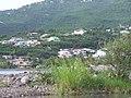 Vue de Vieux-Habitants quartiers nord au-delà de la rivière.JPG