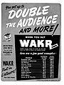 WAKR 1946 Hooper ratings ad.jpg